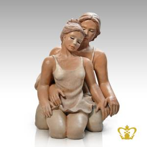 Artistry-Caro-Figurine-with-Intricate-Detailing-of-Cloth