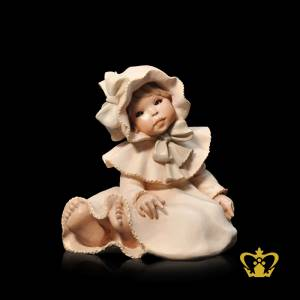 A-Masterpiece-Caro-Figurine-with-Intricate-Detailing-in-Beige-Color