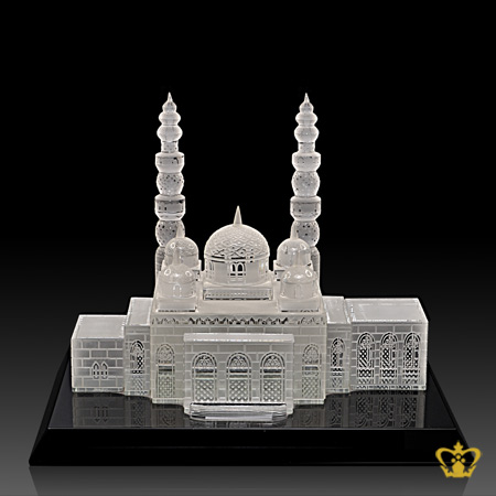 Jumeirah-Mosque-crystal-replica-hand-crafted-corporate-gift-UAE-national-day-tourist-souvenir-famous-landmark