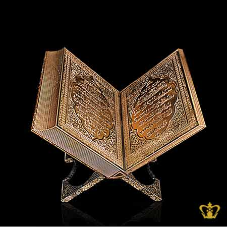Crystal-Quran-Majeed-Replica-With-Golden-Arabic-Word-Calligraphy-Engraved-Islamic-Souvenir-Religious-Occasions-Ramadan