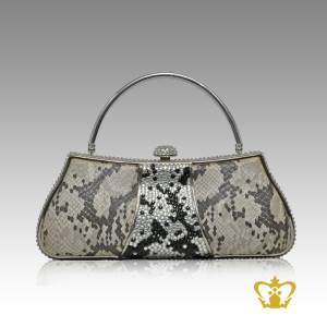 Ladies-purse-mix-color-embellished-with-clear-and-black-sparkling-crystal-stone-gorgeous-gift-for-her