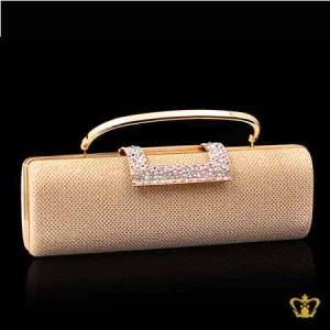 Ladies-purse-golden-color-embellished-with-mix-crystal-diamond-around-the-lock