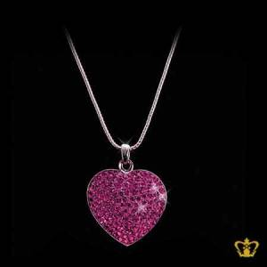 Pink-heart-pendant-for-her-occasions-celebrations-birthday-valentines-day