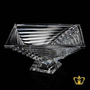 Mystifying-crystal-maze-amazing-gorgeous-exceptional-handcrafted-elegant-modern-bowl-adorned-with-unique-design-decorative-gift