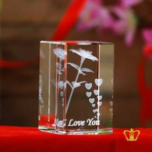 Rose-flower-3D-laser-engraved-cube-valentines-day-gift-2d-3d-customized-personalized-text-word-engrave-etched-printed-gift-special-occasion-for-her-for-him-valentines-day-wedding-