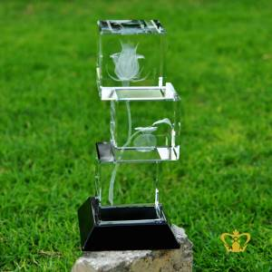 Crystal-Rose-flower-3D-Laser-engraved-stack-Cube-with-Black-Base-Customized-image-Text-gift-50x50x50MM