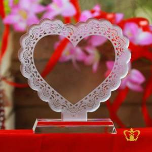 HEART-PLAQUE-A-beautiful-heart-plaque-with-stunning-trimmings-is-a-great-way-to-express-your-heartfelt-sentiments-Valentines-Day-Birthday-Gift-For-Her-For-Him
