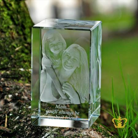 Mother-and-daughter-3D-Laser-Engraved-Crystal-Cube-special-occasions-Mothers-Day-Birthday-gift-souvenir-Customized-Personalized-Logo-Text-