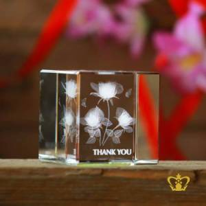 Crystal-cube-rose-flower-3D-laser-engraved-cube-valentines-day-gift-2d-3d-customized-personalized-text-word-engrave-etched-printed-gift-special-occasion-for-her-for-him-valentines-day-wedding
