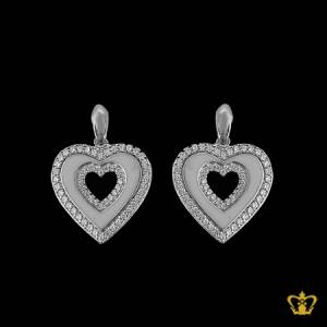 Charming-heart-shape-earring-inlaid-with-crystal-diamonds-lovely-gift-for-her