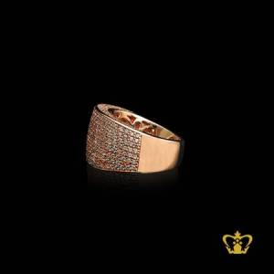 Rose-gold-color-ring-inlaid-with-crystal-diamonds-lovely-gift-for-her