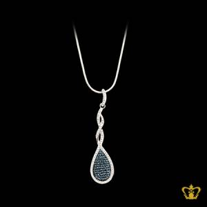 Classy-stylish-pendant-inlaid-with-blue-and-clear-crystal-diamonds-lovely-gift-for-her