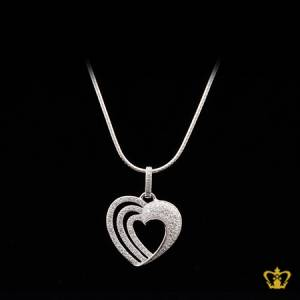 Heart-pendant-embellished-with-sparkling-crystal-diamond-gorgeous-gift-for-her