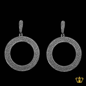 Exquisite-designer-round-sterling-silver-earring-embellished-with-crystal-diamond-lovely-gift-for-her
