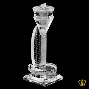 Crystal-replica-of-Baharain-Airport-Tower-gift-Tourist-Souvenir