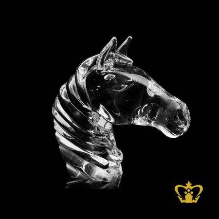 Masterpiece-Artistry-Crystal-Horse-Head-Replica-with-Intricate-Design