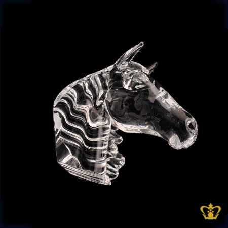 Handcrafted-Crystal-Replica-of-Arabian-Horse-Head-Customized-base-Text-Logo-UAE-Traditional-Horse-Racing