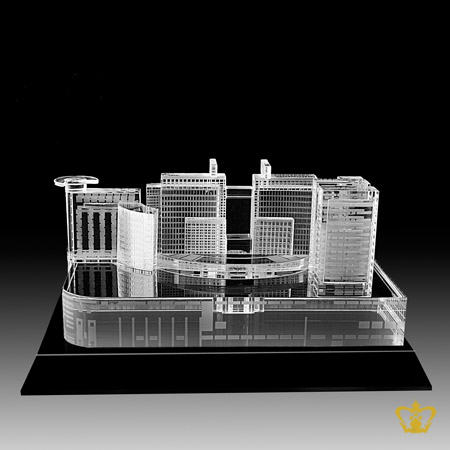 Abu-Dhabi-Mall-crystal-replica-hand-crafted-corporate-gift-tourist-souvenir-famous-landmark