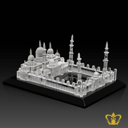 The-Sheikh-Zayed-Grand-Mosque-Crystal-replica-with-black-base-Hand-crafted-Corporate-Gift-UAE-National-Day-Tourist-Souvenir-Abu-Dhabi-Famous-Land-Mark