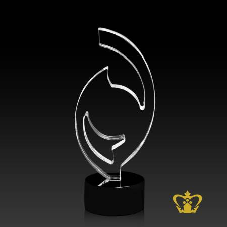 Logo-Trophy-Cutout-with-Black-Base-Customized-Logo-Text-60-X-100-MM