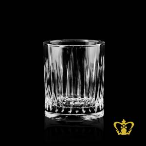 Traditional-handcrafted-designs-Stuart-cuts-on-whisky-glass